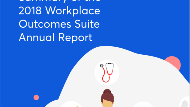 Workplace Well-being 2018 report
