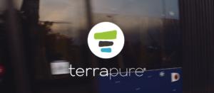 Terrapure company logo as showcased in the video